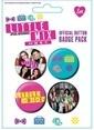 Pyramid International Rozet Seti - Little Mix Renkli